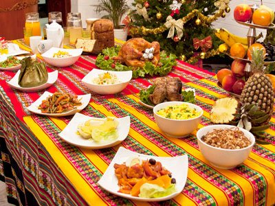 peruvian buffet