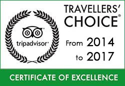 Travelers Choice Certificate of Excellence