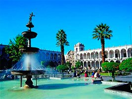City of Arequipa, fountain