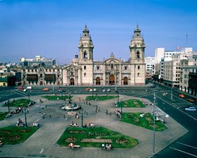Lima City Center view