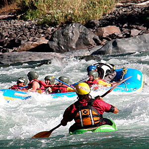 Whitewater Rafting in Urubamba