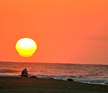tumbes sunset