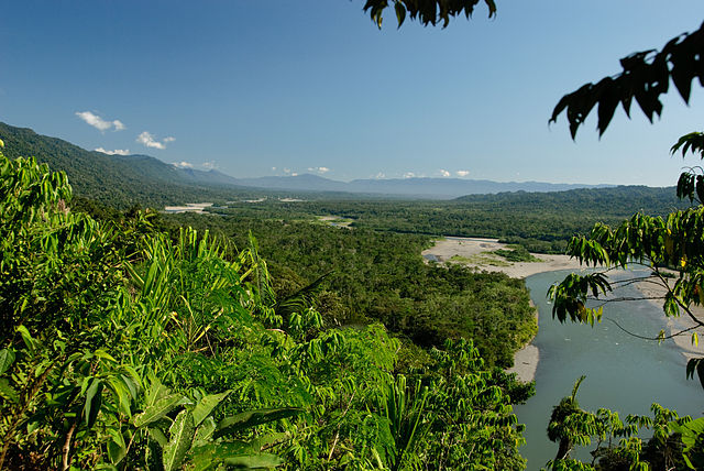 Manu National Park in southwestern Peru