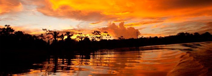 Peruvian River Basin
