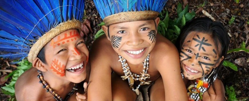 Peru amazon tours children
